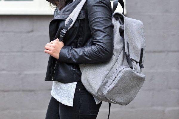 damski plecak materiałowy